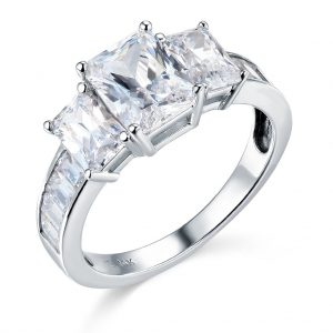 TWJC 14k Engagement Ring - Black Friday Engagement Rings Deals 2019 Buying Guide
