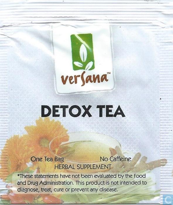 Versana Detox Tea - Best Detox Tea for Weight Loss - 5 Best Slimming Teas Review