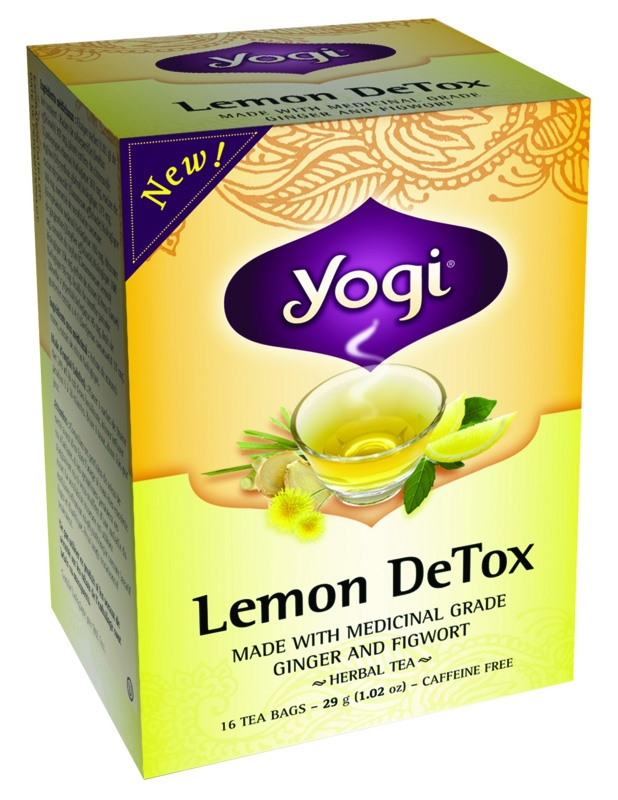 Yogi Detox Tea- Best Detox Tea for Weight Loss - 5 Best Slimming Teas Review