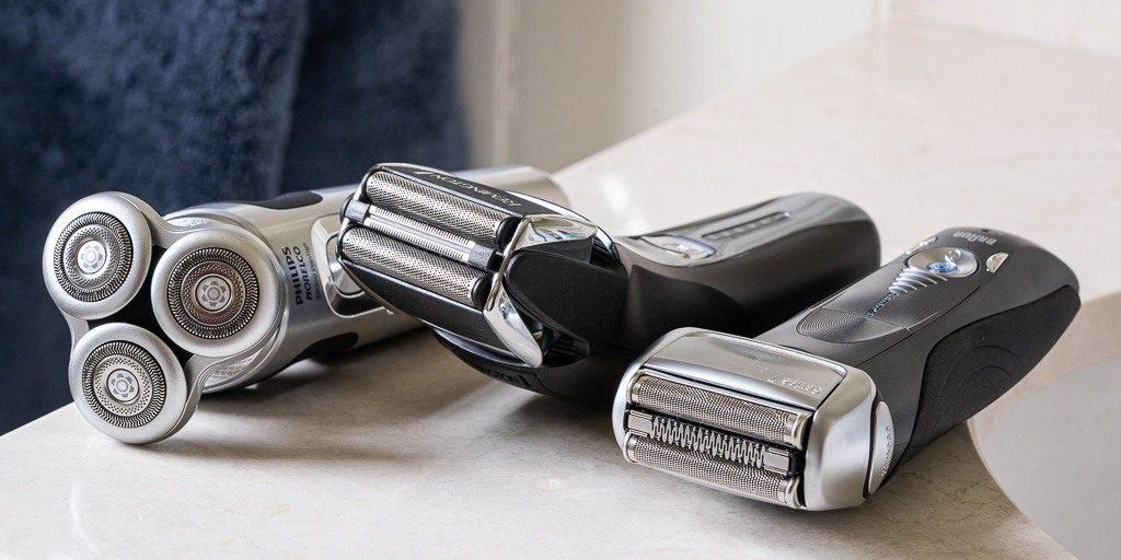 tough beard and sensitive skin electric shavers